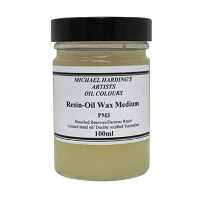 Michael Harding Resin Oil Wax Medium - 100ml