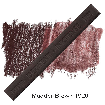Derwent Inktense Blocks Madder Brown 1920