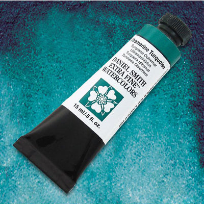 Daniel Smith Watercolours - Green/Turquoise - 15ml tube