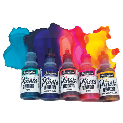 Highly saturated, fast-drying and extremely vibrant alcohol inks