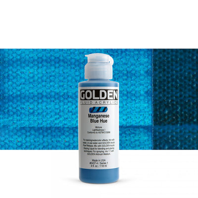 Golden Fluid Acrylics Manganese Blue hue