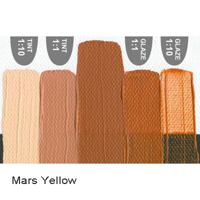 Golden Heavy Body Acrylic paint Mars Yellow