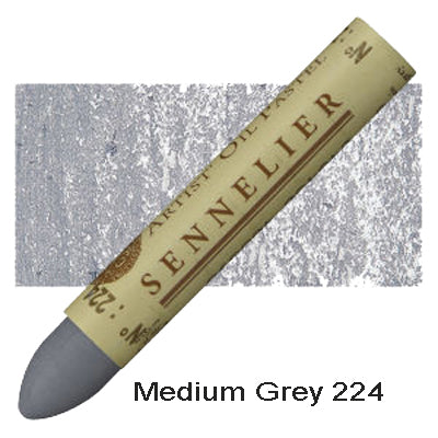 Sennelier Oil Pastels Medium Grey 224