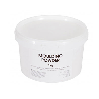 Moulding powder for making models and plaster casting