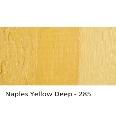 Cobra Water-mixable Oil Paint Naples Yellow Deep 285
