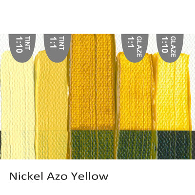 Golden Heavy Body Acrylic paint Nickel Azo Yellow