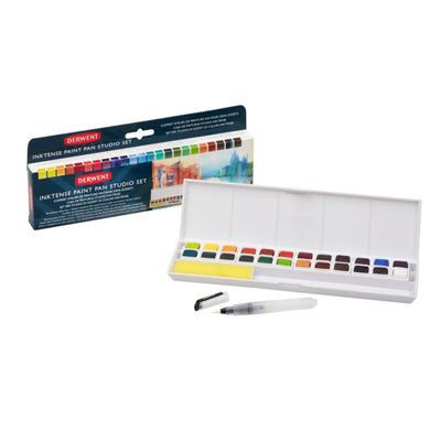 Derwent Inktense Paint Pan Studio set of 24