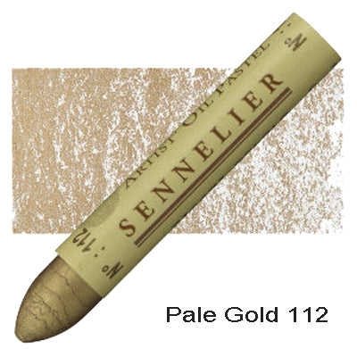 Sennelier Oil Pastels Pale Gold 112