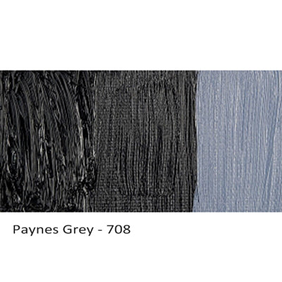 Cobra Water-mixable Oil Paint Paynes Grey 708
