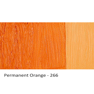 Cobra Water-mixable Oil Paint Permanent Orange 266