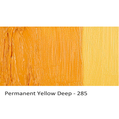 Cobra Water-mixable Oil Paint Permanent Yellow Deep 285