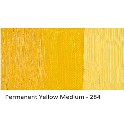 Cobra Water-mixable Oil Paint Permanent Yellow Medium 284