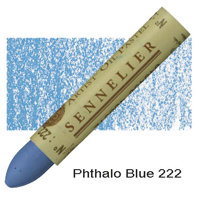 Sennelier Oil Pastels Phthalo Blue 222
