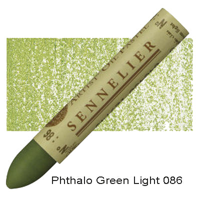 Sennelier Oil Pastels Phthalo Green Light 086