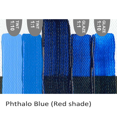 Golden Heavy Body Acrylic paint Phthalo Blue (Red Shade)
