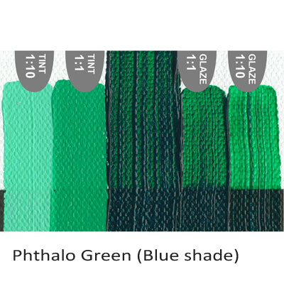 Golden Heavy Body Acrylic paint Phthalo Green (Blue shade)