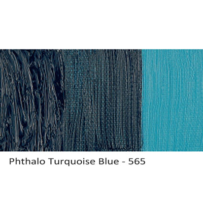 Cobra Water-mixable Oil Paint Phthalo Turquoise blue 565