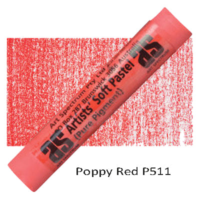 Art Spectrum Soft Pastels Poppy Red P511