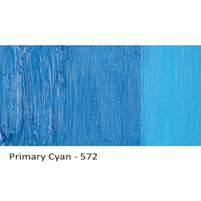Cobra Water-mixable Oil Paint Primary Cyan 572
