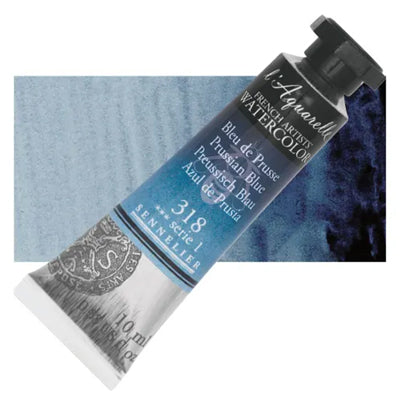 Sennelier L'Aquarelle Watercolours Prussian Blue 318