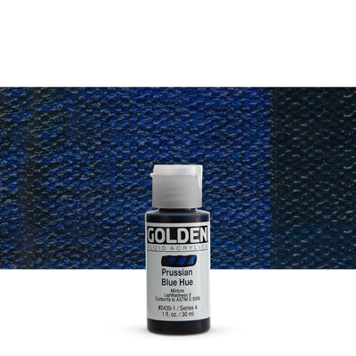 Golden Fluid Acrylics Prussian Blue hue