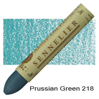 Sennelier Oil Pastels Prussian Green 218