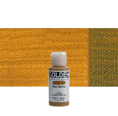 Golden Fluid Acrylics Raw Sienna