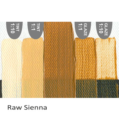 Golden Heavy Body Acrylic paint Raw Sienna