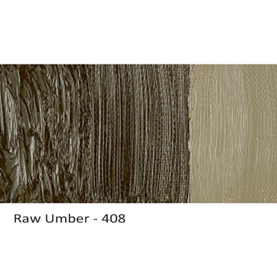 Cobra Water-mixable Oil Paint Raw Umber 408
