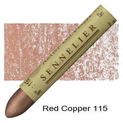 Sennelier Oil Pastels Red Copper 115