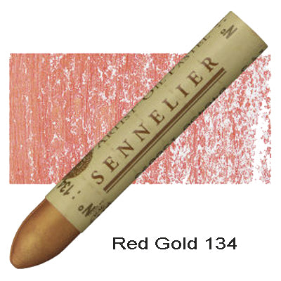 Sennelier Oil Pastels Red Gold 134
