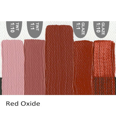 Golden Heavy Body Acrylic paint Red Oxide