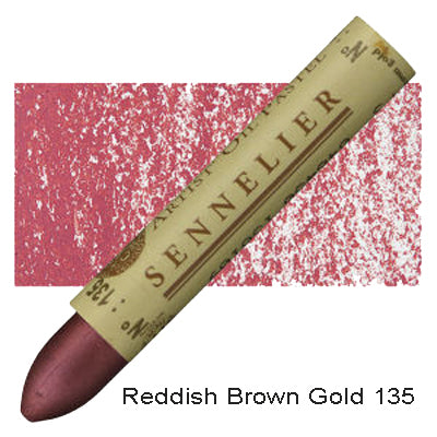 Sennelier Oil Pastels Reddish Brown Gold 135
