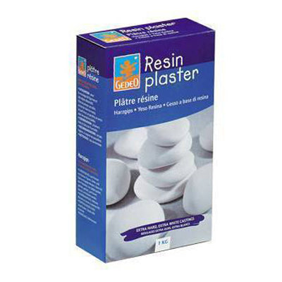 Top quality resin plaster due to its exceptional hardness after drying  Similar to polyester resins