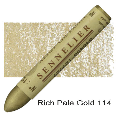 Sennelier Oil Pastels Rich Pale Gold 114