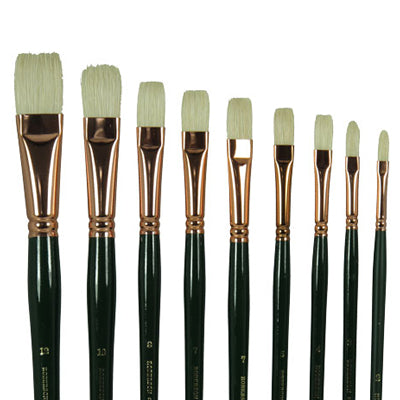 Robersons Finest Hog Bristle brushes - Flat