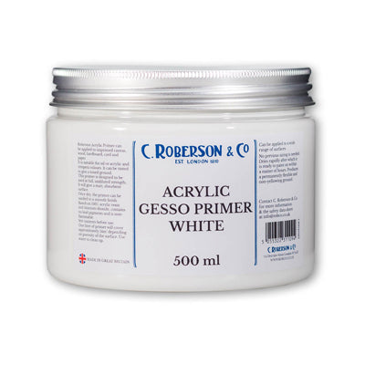 Fast drying, flexible and non-yellowing ground for oil, acrylic & tempera