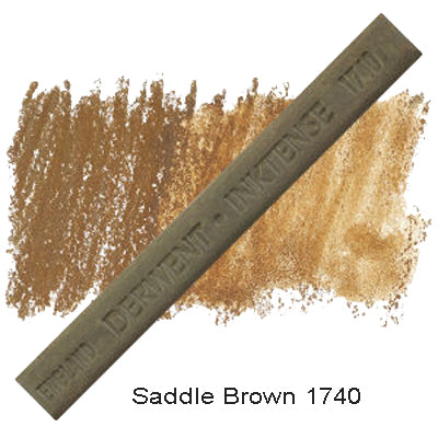 Derwent Inktense Blocks Saddle Brown 1740