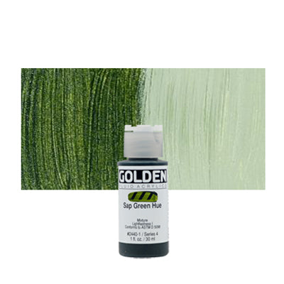Golden Fluid Acrylics Sap Green hue