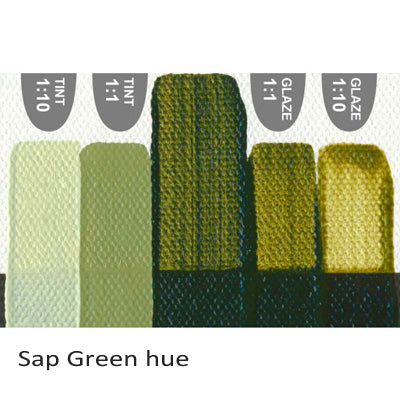 Golden Heavy Body Acrylic paint Sap Green hue