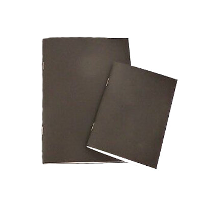 Sketchbooks contain all-media paper or eco paper and suitable for graphite pencils, coloured pencils, markers and pen.