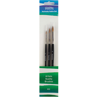 High absorbability of water and paint these brushes are suitable for watercolour and gouache