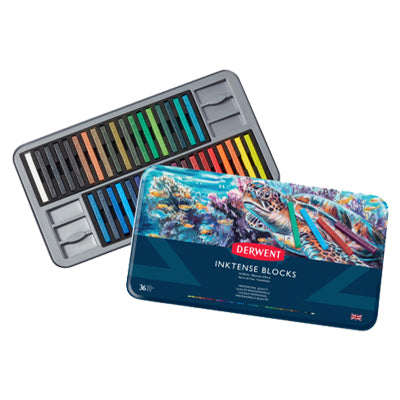 Derwent Inktense blocks - set of 36