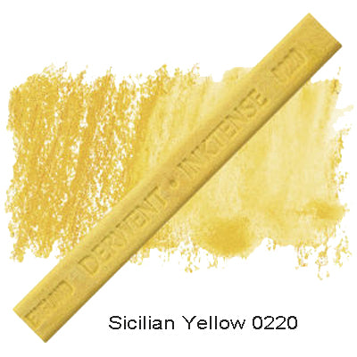 Derwent Inktense Blocks Sicilian Yellow 0220