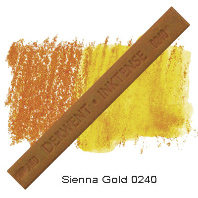 Derwent Inktense Blocks Sienna Gold 0240