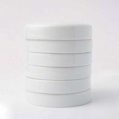 Stackable porcelain nest palette
