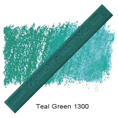 Derwent Inktense Blocks Teal Green 1300
