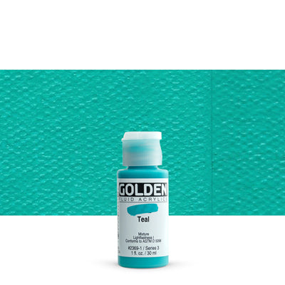Golden Fluid Acrylics Teal
