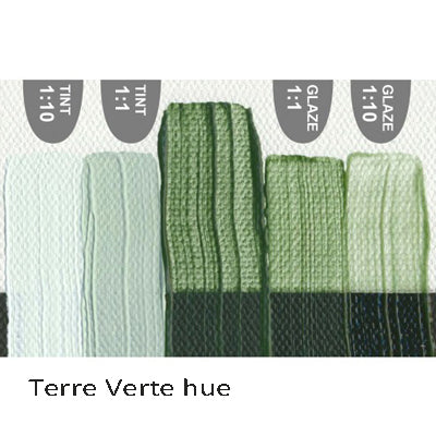 Golden Heavy Body Acrylic paint Terre Verte hue