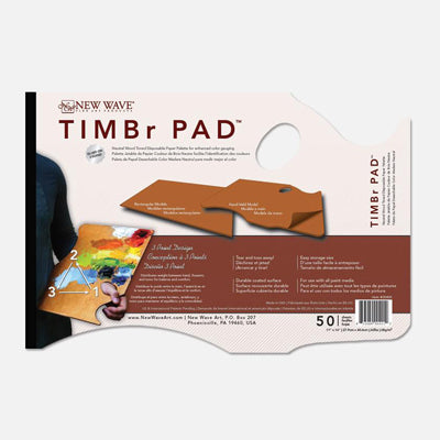 "New Wave Timbr Tear off Palette - Hand held model - 12"" x 16"""